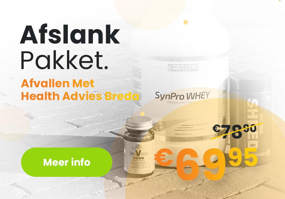 Afslank Pakket van Health Advies Breda